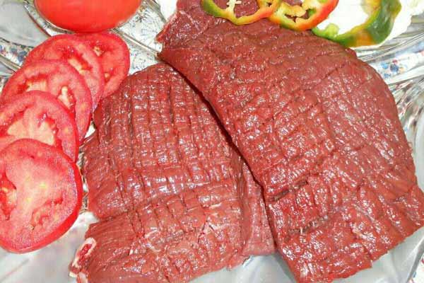 انواع گوشت شترمرغ